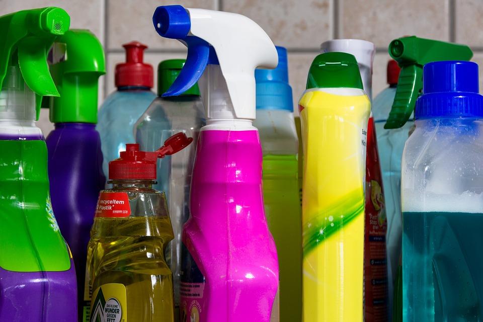 Plastové, Čistý, Znečištění, Vyčistit, Rozpočet