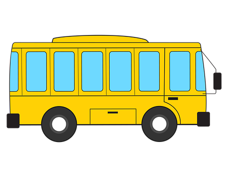 20 free bus cartoon bus images pixabay https creativecommons org licenses publicdomain