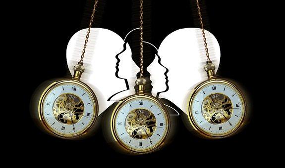 Hypnosis, Clock, Pocket Watch, Pendulum