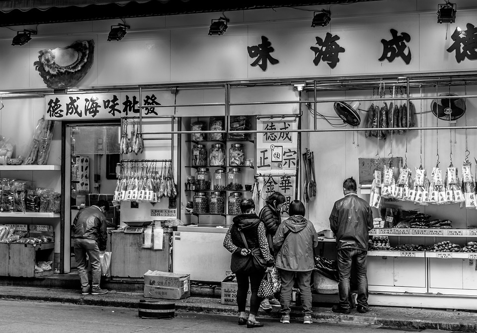 Hong Kong, Şehir, Mimarisi, Bina, Seyahat, Iş, Street