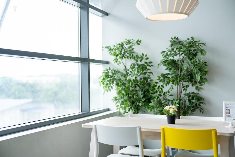 Ikea interieur wit