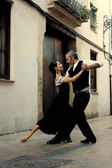 Tango, Couple, Dancer, Dancers, Romance