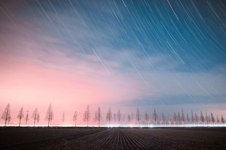 Il Cielo Di Notte, Vista Di Notte, Starlight, Corea