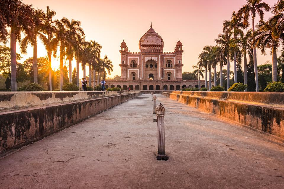 India, Delhi, Temple, Mausoleum, Architecture, Building
