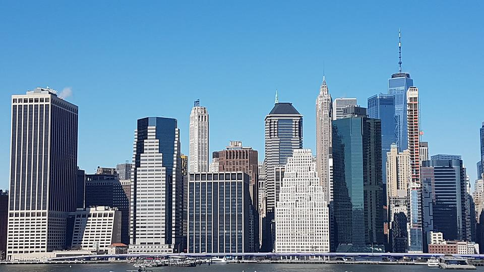 New York City Skyscrapers Nyc Free Photo On Pixabay