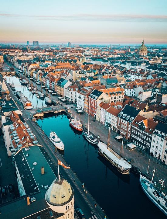 Kopenhagen, Vogelperspektive
