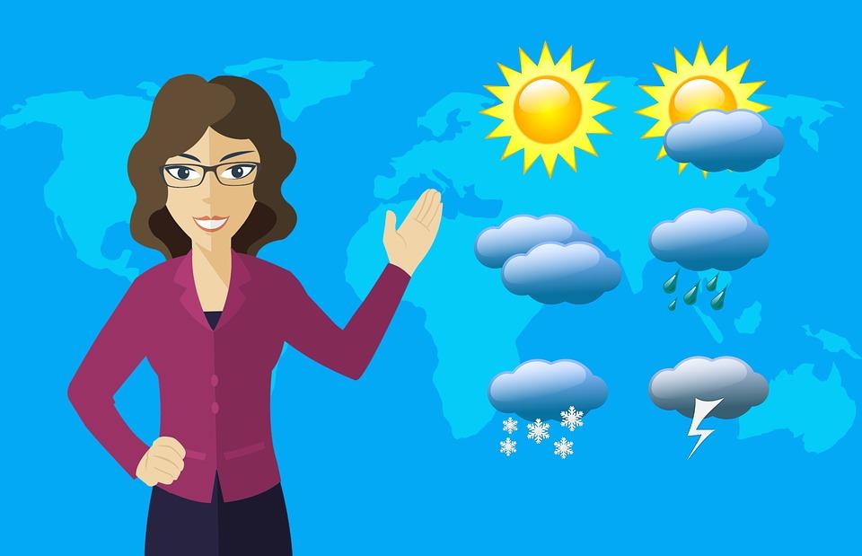 Hava Tahmin Muhabir Pixabay De Ucretsiz Resim
