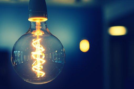 Pear, Light, Energy, Light Bulb, Current