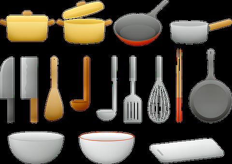 鍋、フライパン, 台所道具, 料理, シェフ, ポット, 道具, スープ
