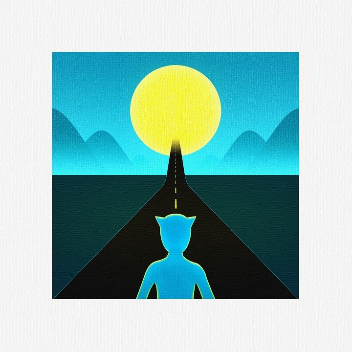 Fantazja, Bajki, Noc, Księżyc, Czas I Przestrzeń Tunelu