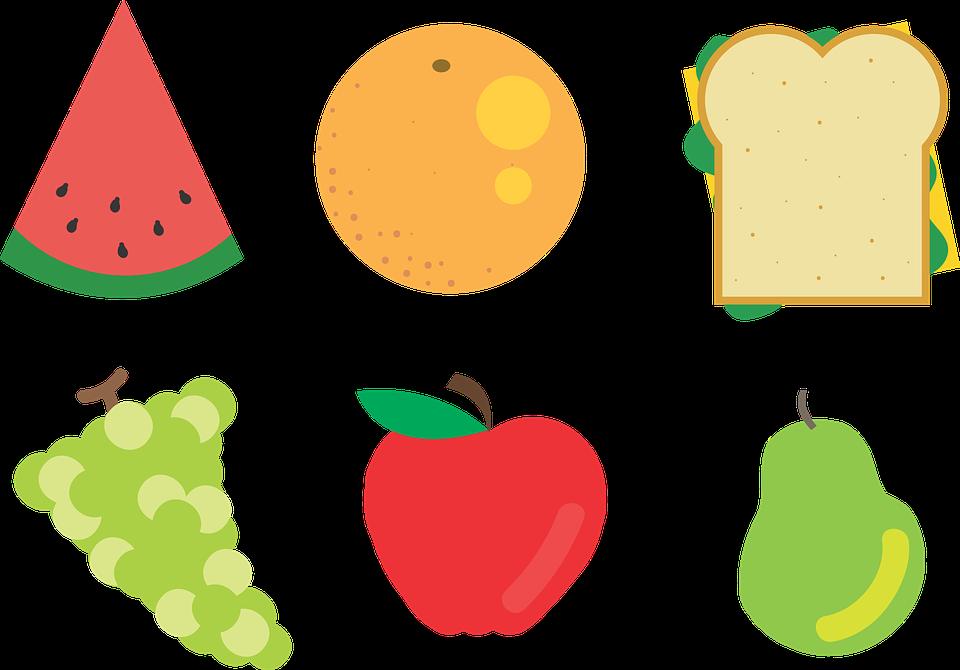 Alimentos Piquenique Saudavel Grafico Vetorial Gratis No Pixabay