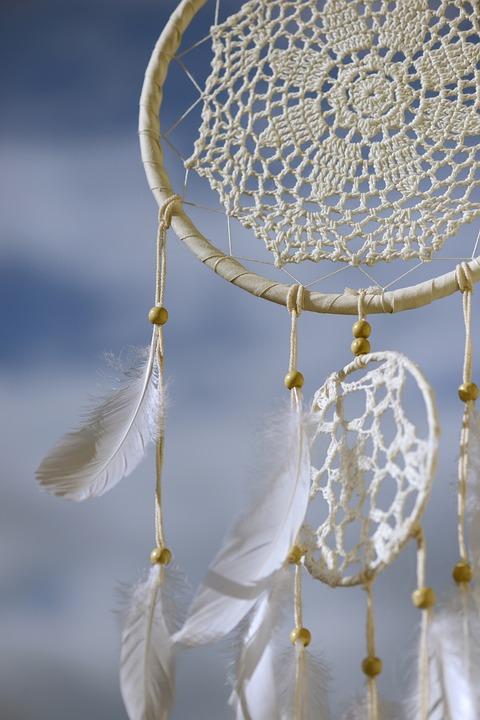 Dream Catcher, Geestelijke, Indianen, Veer
