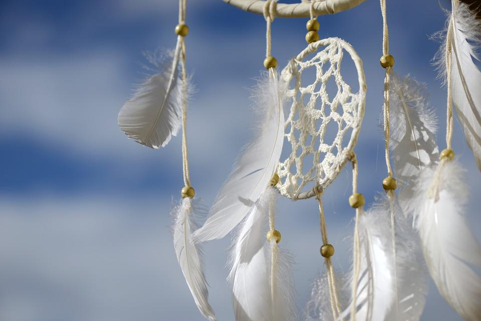 Dream Catcher, Dreamcatcher, Feather, Dreams, Indian