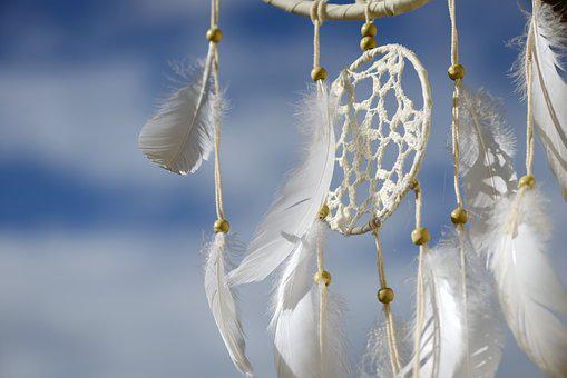 ドリーム キャッチャー, 羽, 夢, インド, 文化, 自然の精霊