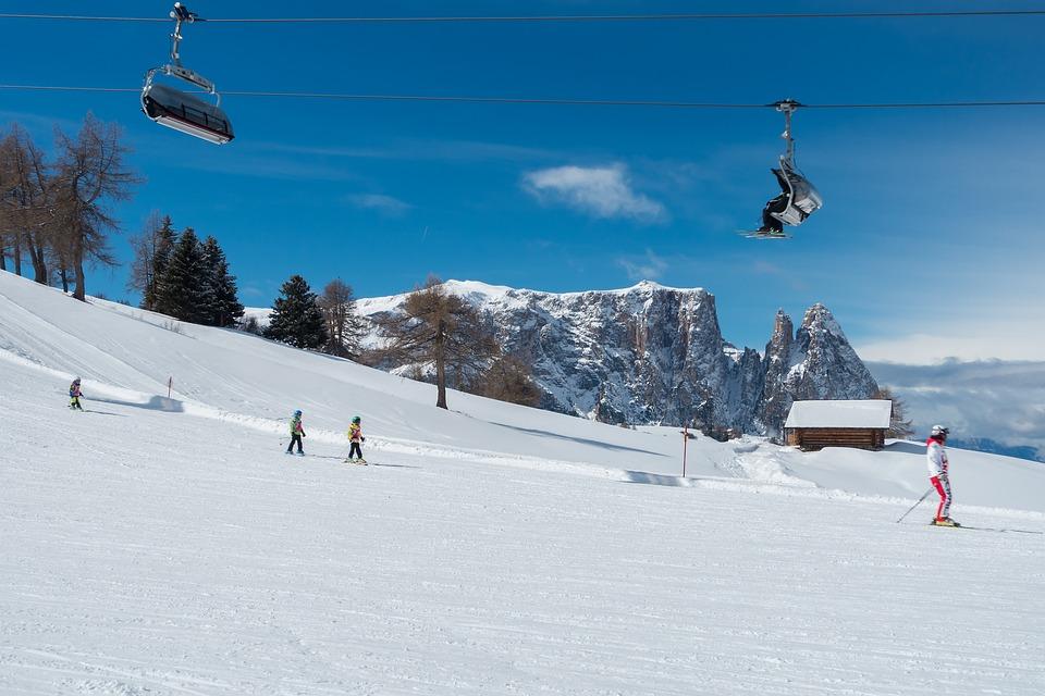 Inverno, Sci, Scuola Di Sci, Sciatori, Sport Invernali