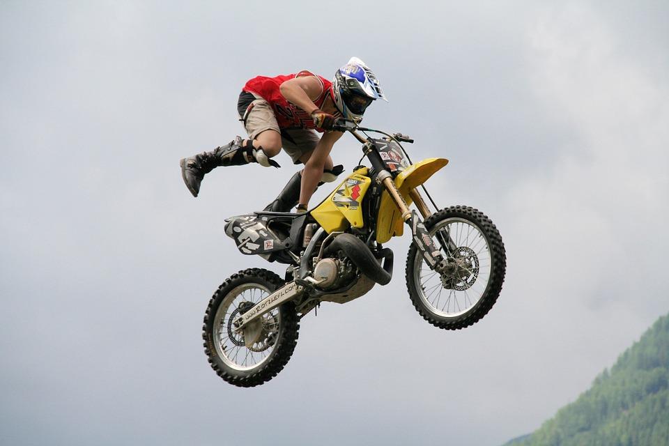 Motocross Melompat Freestyle Foto Gratis Di Pixabay