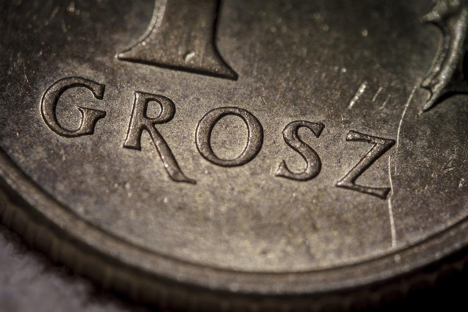 Grosz, Moneta, Gotówka, Bilon, Bieda, Bogactwo, Drobne