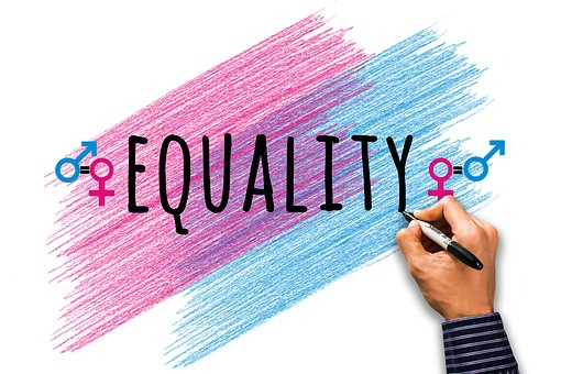 Equality, Male, Female, Symbol, Equal