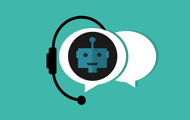 Customer service chatbot icon