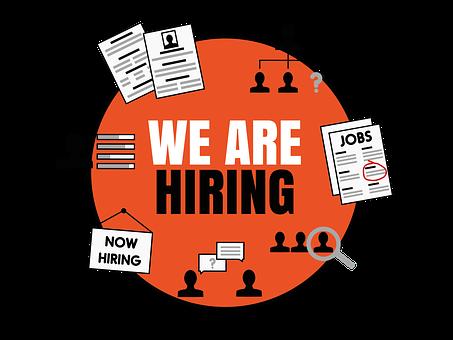 Hiring, New Job, Job Vacancy
