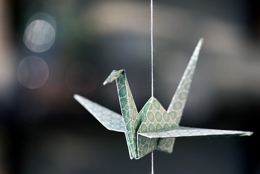 Origami, Crane, Paper, Japan, Fold