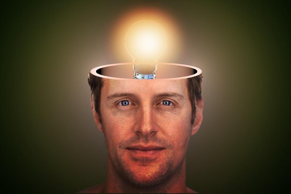 Człowiek, Idea, Głowy, Człowieka, Myślenie, Duch