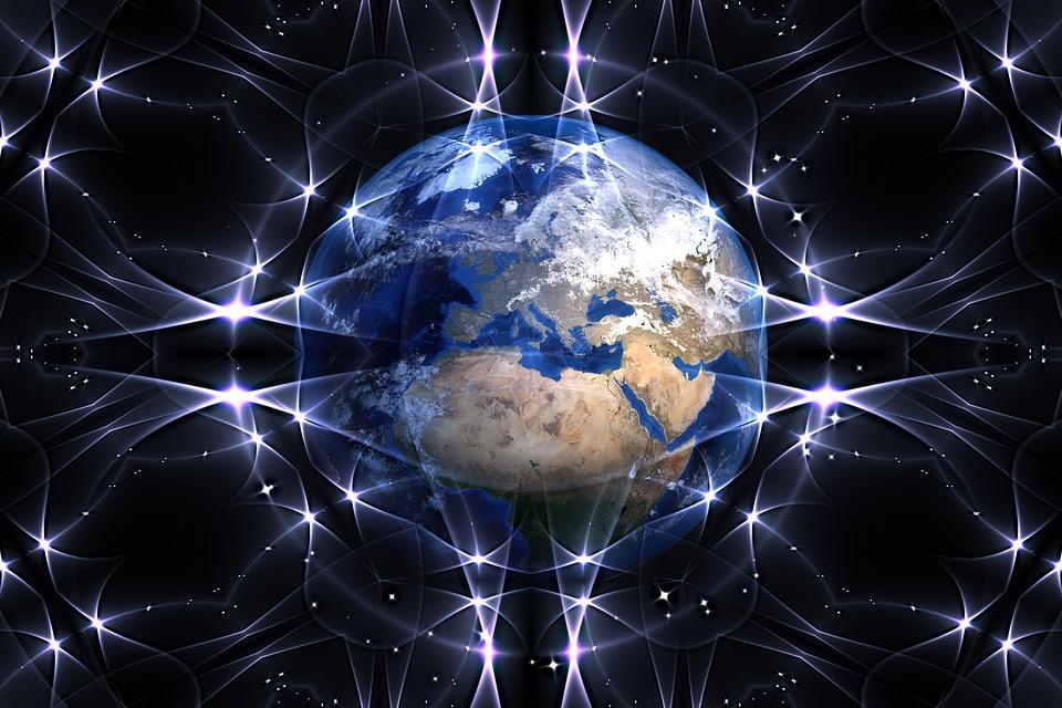 Terra, Planet, Globo, Rete, Connessioni, Contatto