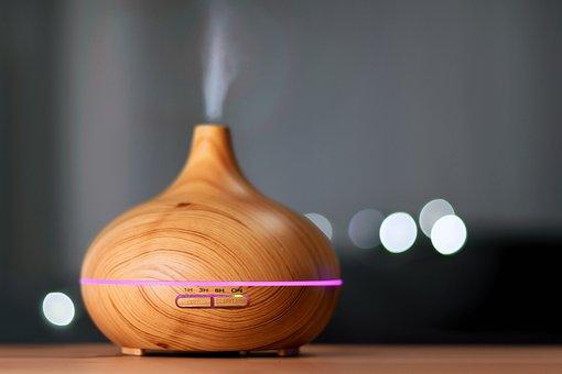 香り, ディフューザー, 加湿器, 室内気候, エッセンシャルオイル