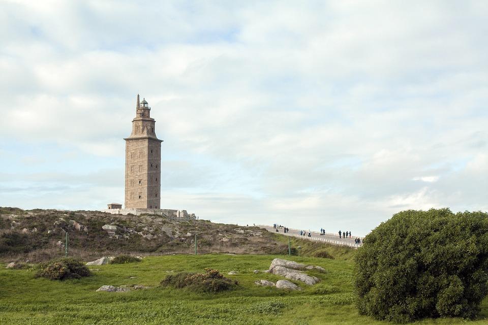 Torre, Faro, Arquitectura, Histórico, Torre De Hércules