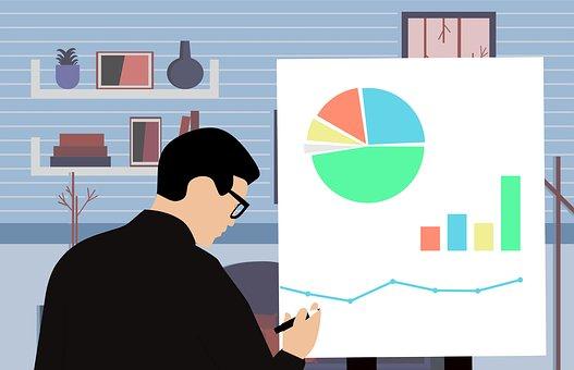 計画, ファイナンス, ビジネス, プレゼンテーション, 実業家, 売上高