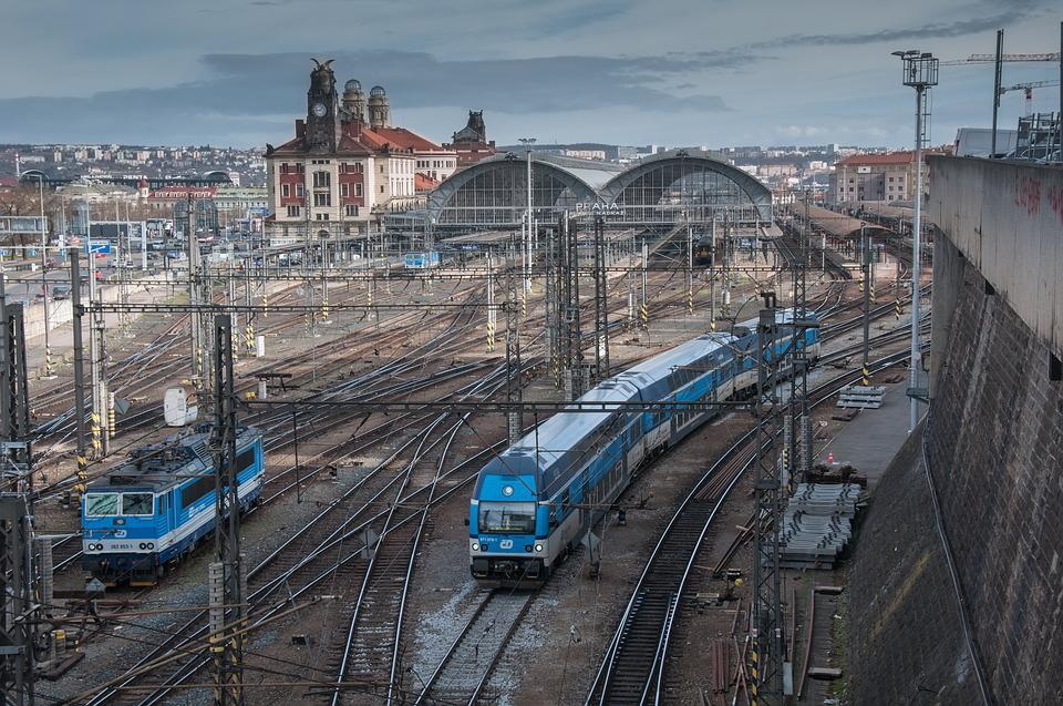 The Prague Metro Ticket Machine