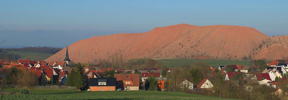 Panorama, Village, Landscape