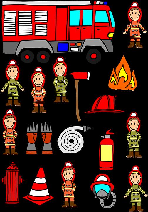 Pemadam Kebakaran Tangan Ditarik Gambar Gratis Di Pixabay