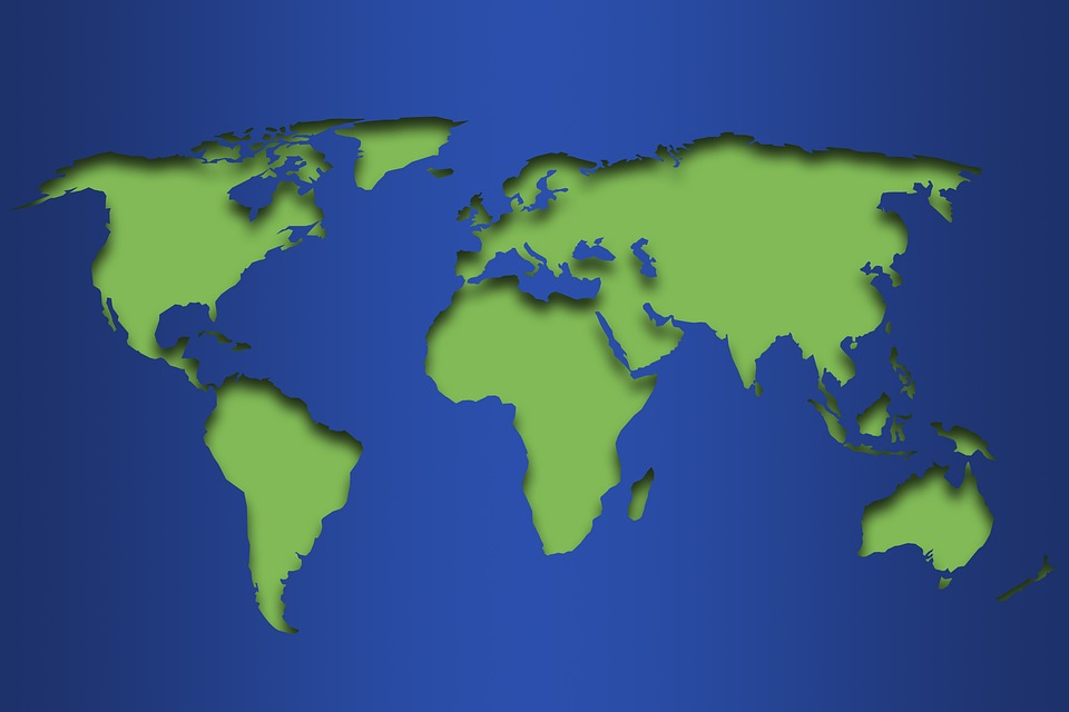 Maailman Kartta Maa Ilmainen Kuva Pixabayssa