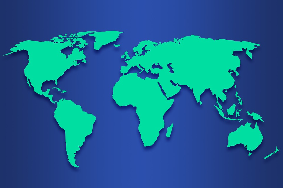 Karte Erde.Welt Karte Erde Kostenloses Bild Auf Pixabay