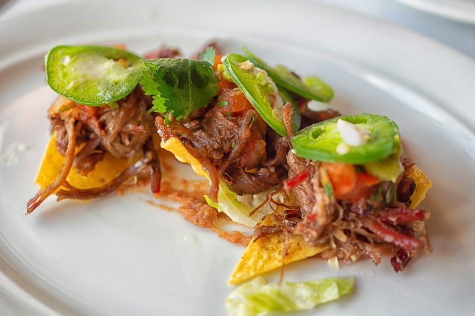 Appetizer, Pork, Nachos, Jalapeño, Snacks, Gourmet