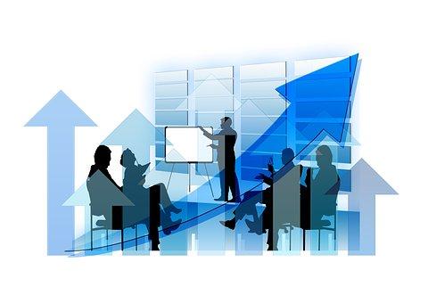 実業家, カウフマン, 矢印, トレーニング, コーチング, 情報, 成功