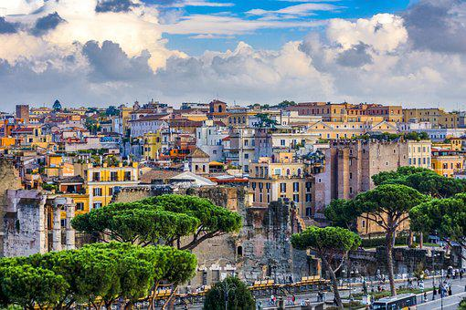 Rom, Häuser, Italien, Stadt, Gebäude