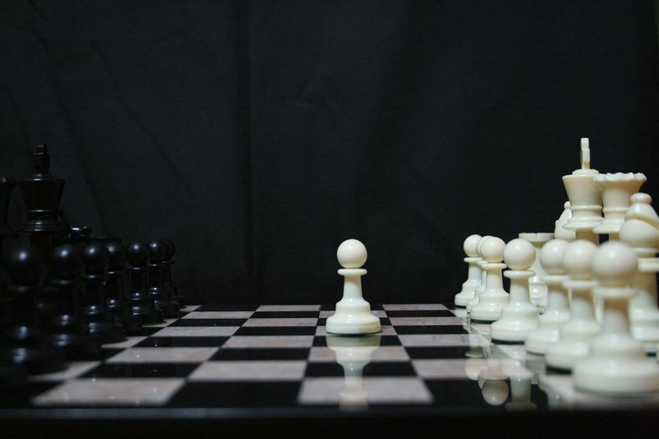 shakki ottelu tekee