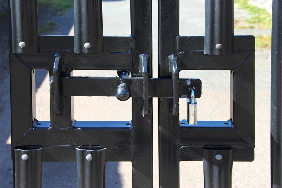 Gate Lock Door - Free photo on Pixabay