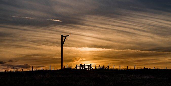 Winter'S Gibbet, Elsdon, Northumberland