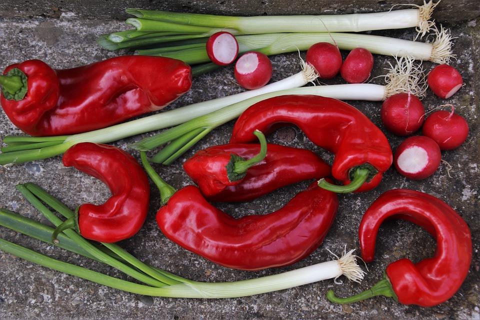 Verdure, Paprika, Bio, Vitamine, Nutrizione, Mangiare
