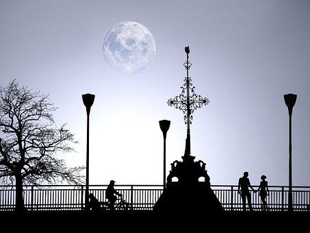 Love, Romantic, Walk, View, Romance