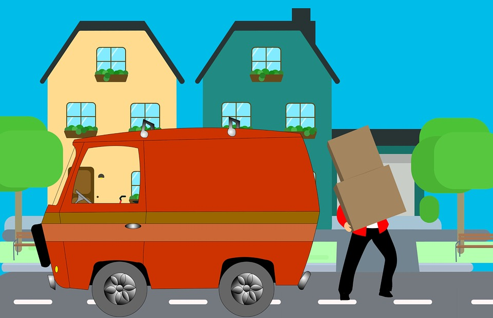 Home, Move, House, Mover, Truck, Help, Heavy, Courier