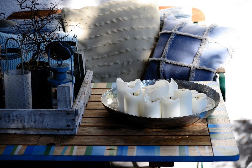 Terraza Patio Decoración Foto Gratis En Pixabay