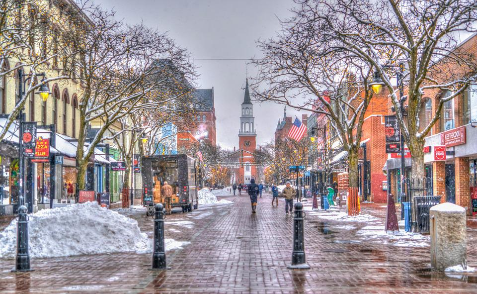 Church Street, Burlington, Vermont, Architecture