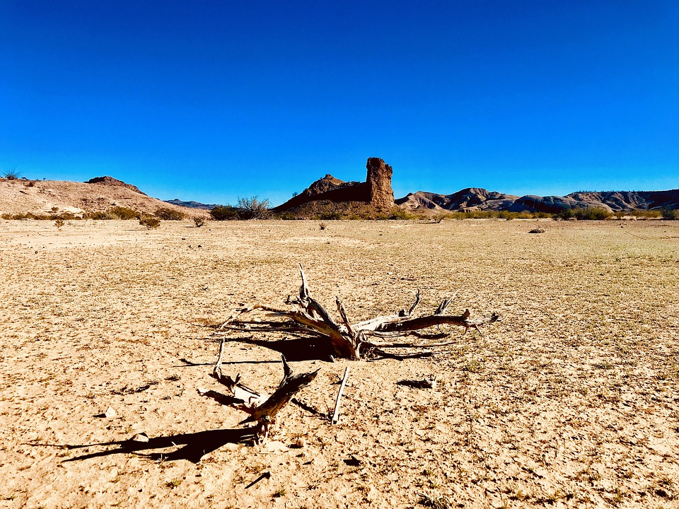 Blue Skies Of Texas >> Desert Dry Blue Sky Free Photo On Pixabay
