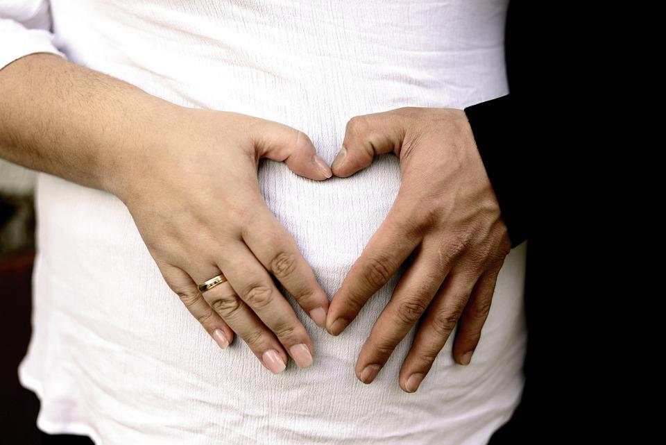 Hands, Heart, Belly, Baby Belly, Pregnancy, Baby, Trust