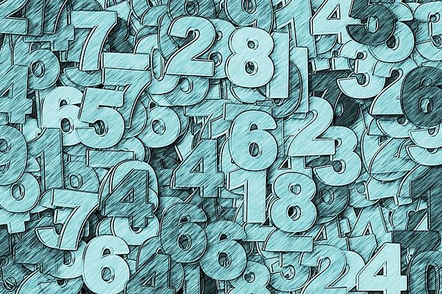 お支払い, 番号, 1, 2 つ, 3, 4, 5, 6, 7, 8, ナイン, Null, 数学, 数