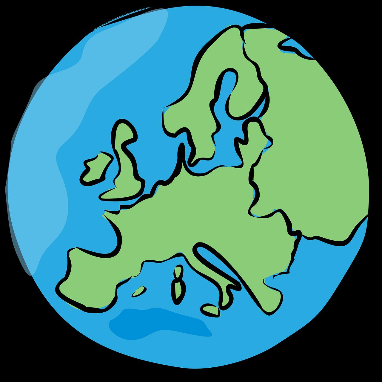 Europe World Globe Free Vector Graphic On Pixabay